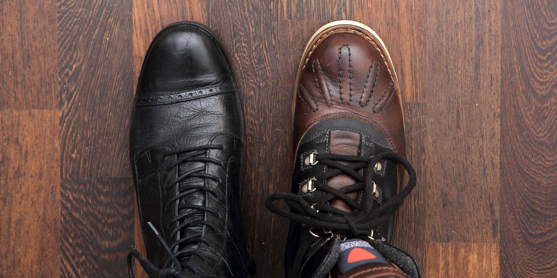 Gebrauchte Schuhe verkaufen.