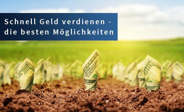 I❶I Schnell Geld verdienen: 20 seriöse Möglichkeiten