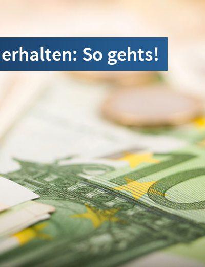 Sofort Bargeld erhalten von dem Testsieger Deutsche Postbank