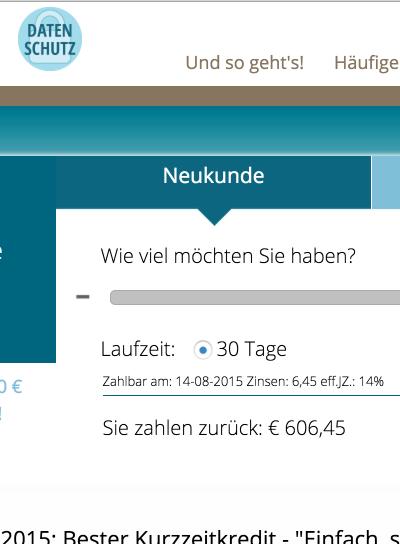 Erhalten Sie 600 Euro in nur 5 Minuten: So gehts!