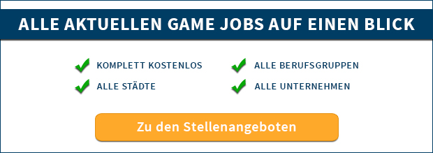 Game Jobs Stellenangebote