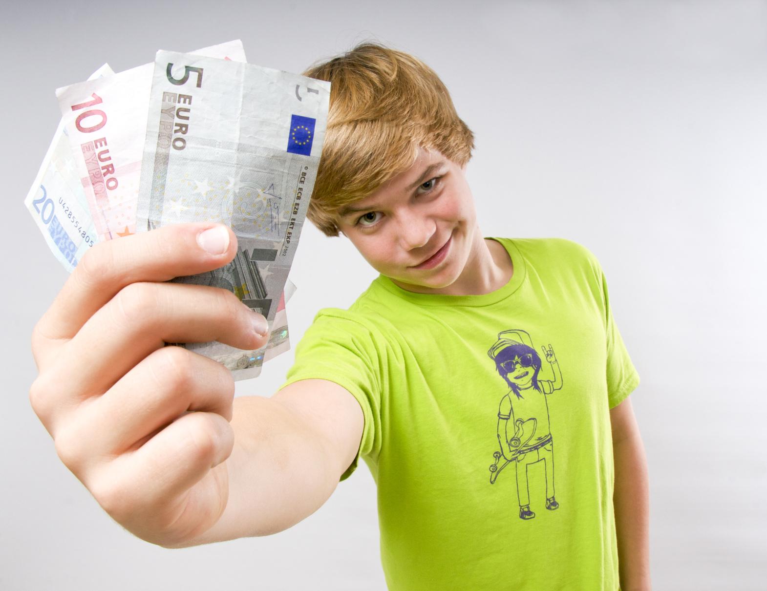 geld verdienen teenager