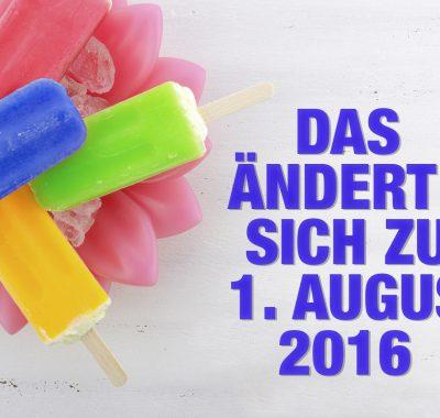 BAföG, Hartz IV – Das ändert sich zum 1. August 2016