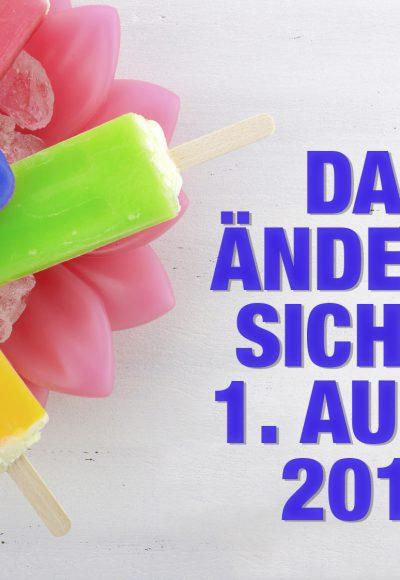 BAföG, Hartz IV - Das ändert sich zum 1. August 2016