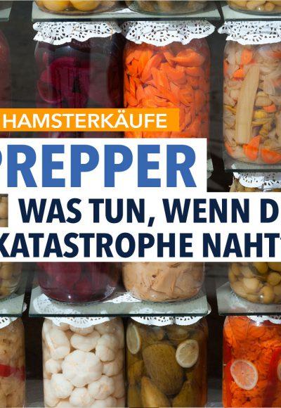 Hamsterkäufe: Wie Prepper sich auf den Ernstfall vorbereiten