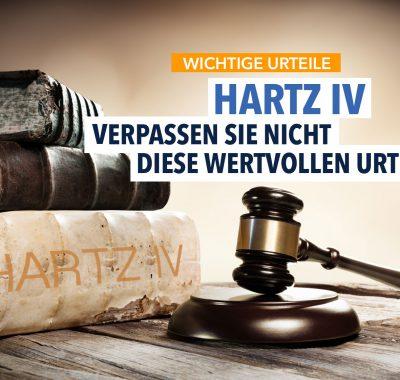 11 Urteile, die Sie als Hartz-IV-Empfänger kennen sollten!