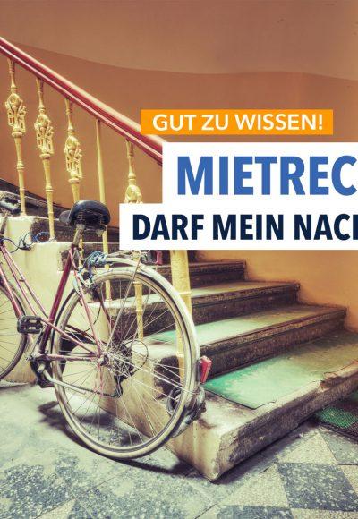 Kinderwagen, Fahrräder, Schuhschrank – Was ist im Treppenhaus erlaubt?