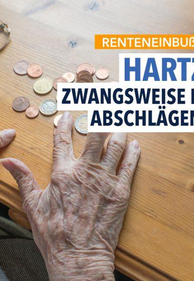 Hartz IV: Immer mehr Ältere werden in Rente geschickt