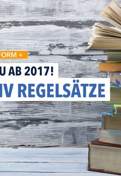 Im Januar 2017 neu: Die Hartz IV Regelsätze