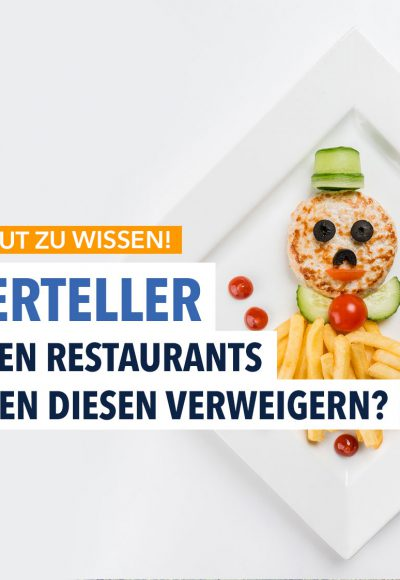 Kinderteller im Restaurant: Auch für Erwachsene?