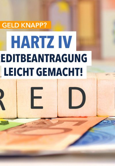 Privater Ratenkredit für Hartz-IV-Empfänger