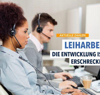 Leiharbeit in Deutschland auf neuem Höchststand