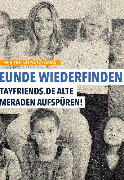 stayfriends.de – Finde alte Klassenkameraden