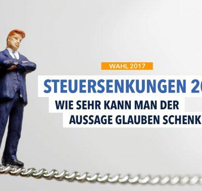 Steuersenkungen 2017: Was ist wirklich dran an Schäubles Ankündigung?