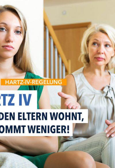 Hartz IV: Einkommen der Eltern darf mit angerechnet werden
