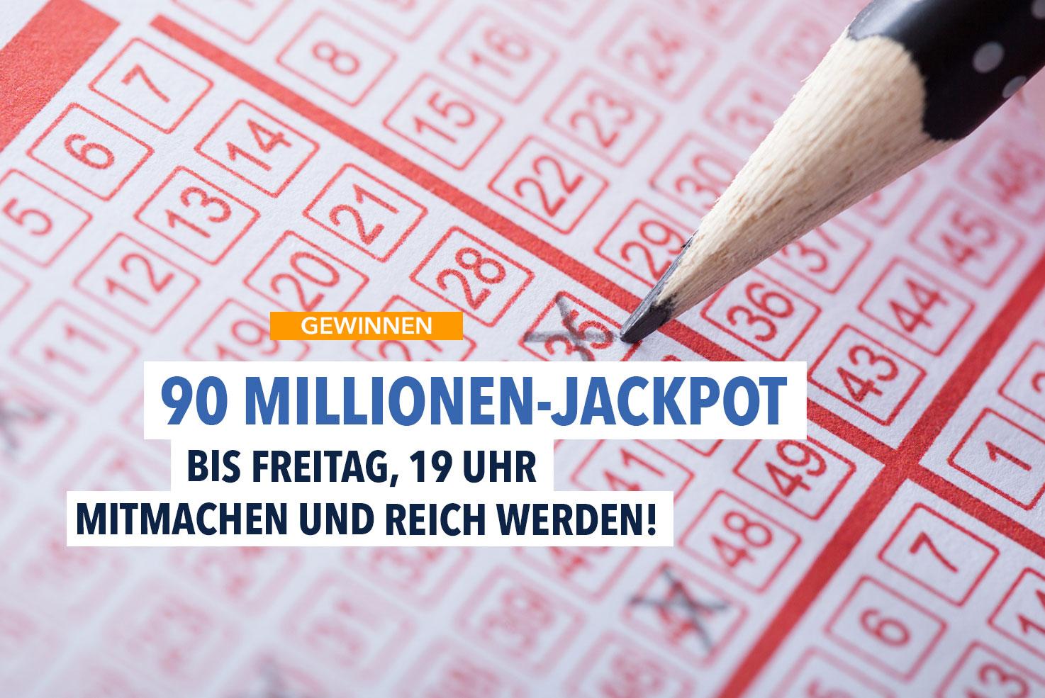 90-Millionen-Jackpot
