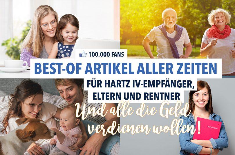 Best-of Artikel aller Zeiten: Zum Dank für 100.000 Fans bei Facebook