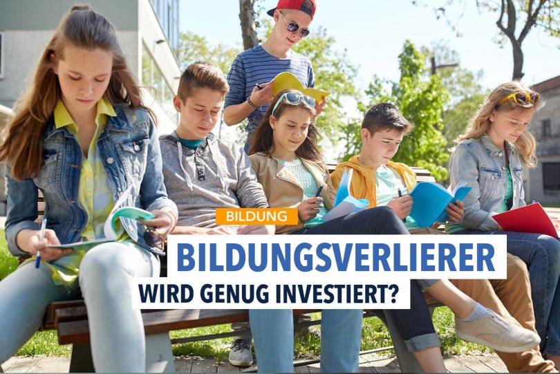 Zahl der Bildungsverlierer stagniert – Deutschland investiert zu wenig in Bildung