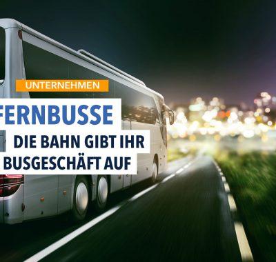 Bahn stellt Busgeschäft ein