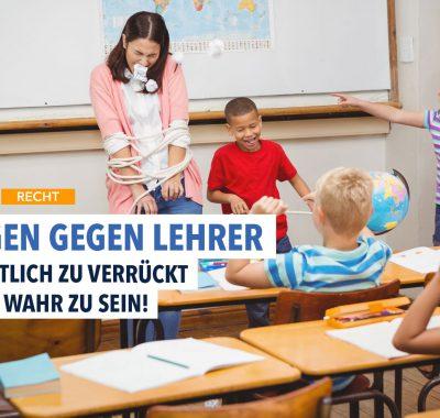Schüler verklagen ihre Lehrer: Immer erfolgreich?
