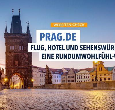 Prag.de: Ein Muss für alle Prag Liebhaber