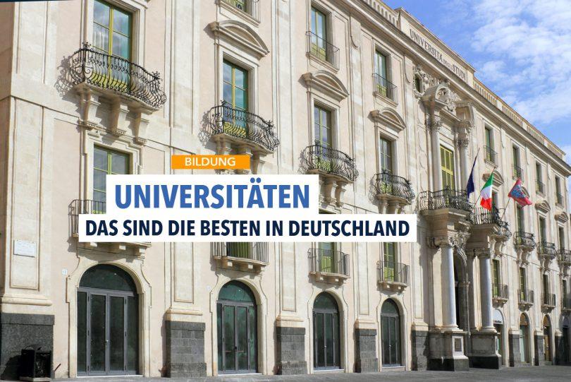 Studieren an Deutschlands besten Universitäten
