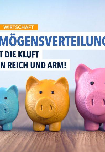 Wie ungleich die Vermögen in Deutschland verteilt sind