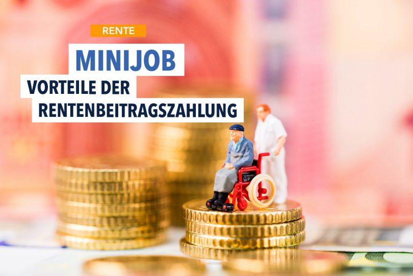 Minijob? Rentenversicherung zahlt sich aus