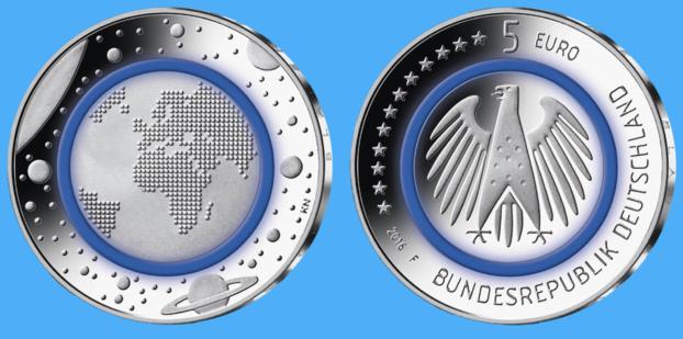 Deutschlands  5-Euro-Münze