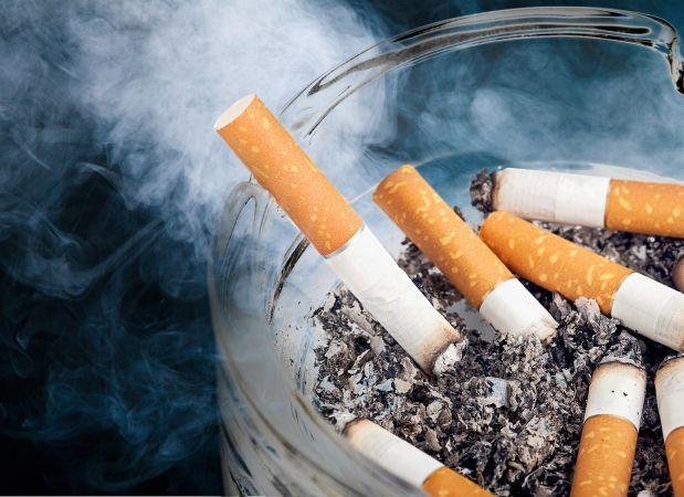 Studie zum Rauchen