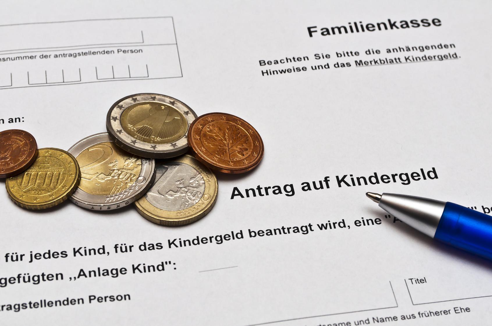Kindergeldnummer auf dem Kontoauszug finden