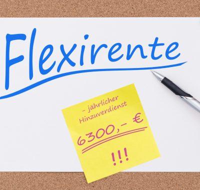 Flexi-Rente: Teilzeitarbeit mit Teilrente