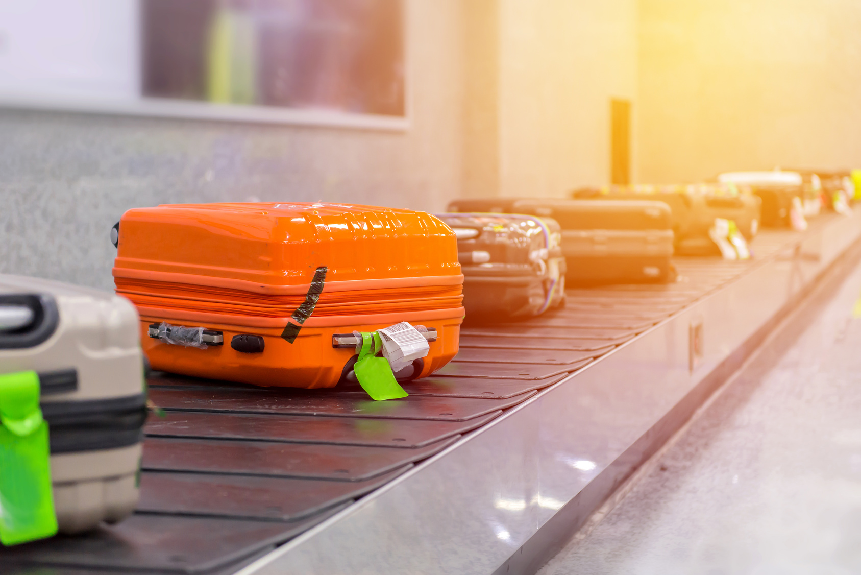 Migrant wollte im Koffer versteckt einreisen