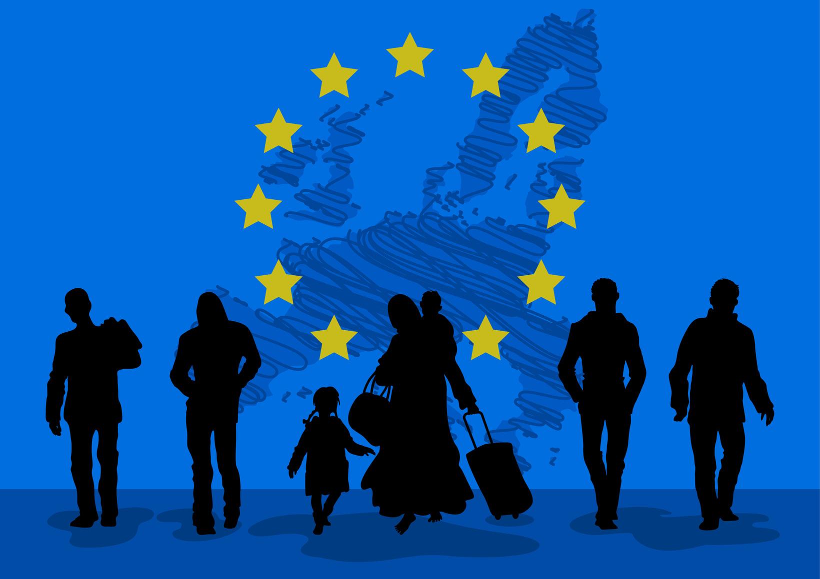 Migration die Flüchtlinge werden kommen, so oder so