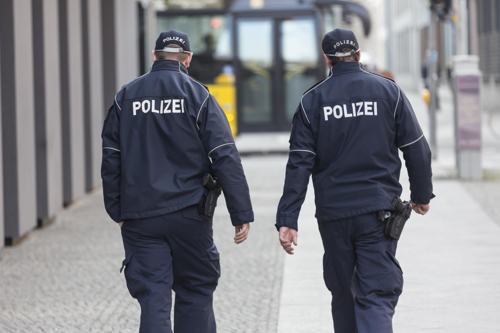 Nackter Mann lieferte sich Verfolgungsjagd mit Polizei