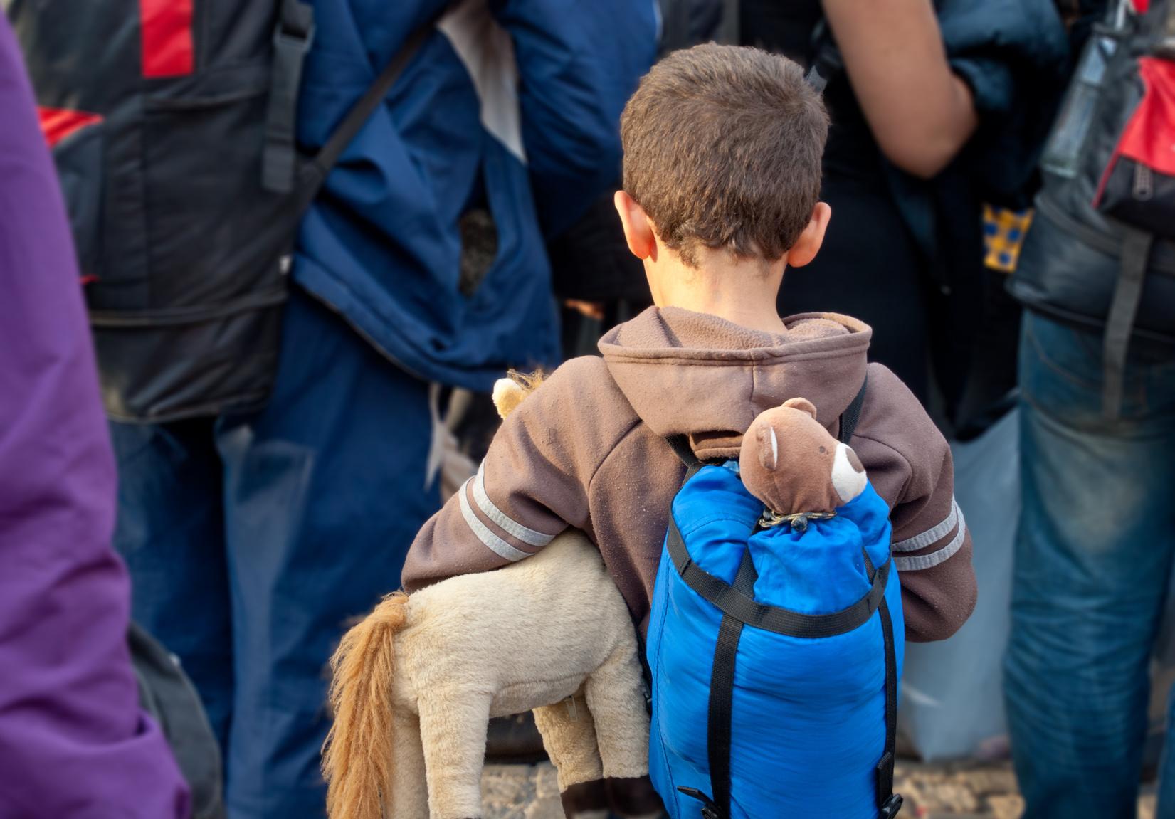 Immer mehr unbegleitete Flüchtlings-Kinder kommen nach Deutschland