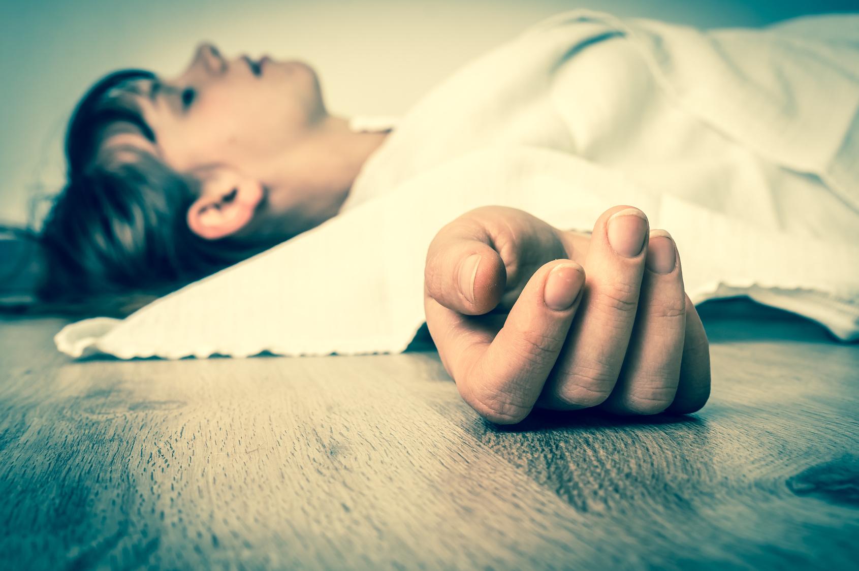 Bei lebendigem Leib begraben - Junge Frau tot