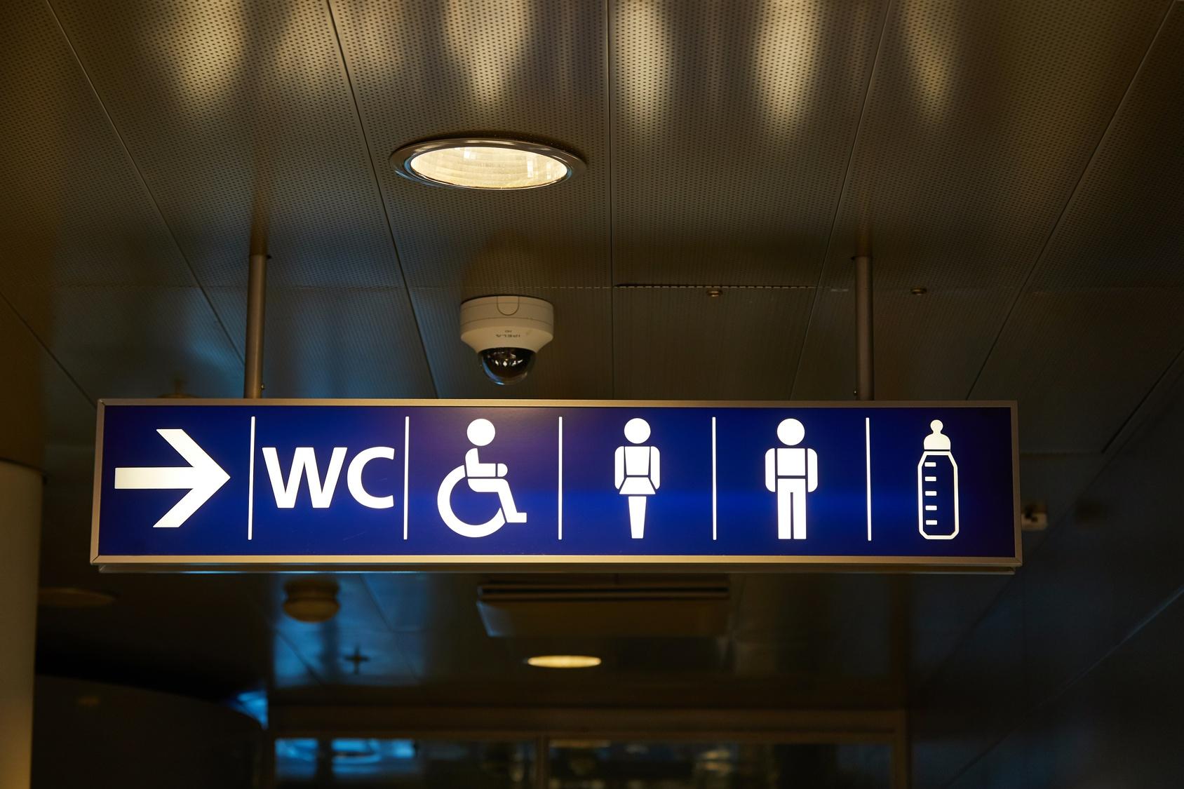 Riesen Ärger wegen muslimischer Toilette