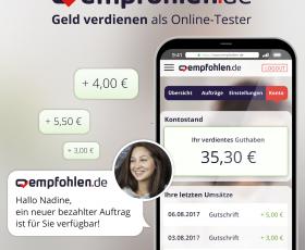 empfohlen.de – Geld verdienen mit bezahlten Aufträgen