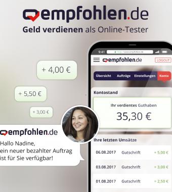 empfohlen.de - Geld verdienen mit bezahlten Aufträgen